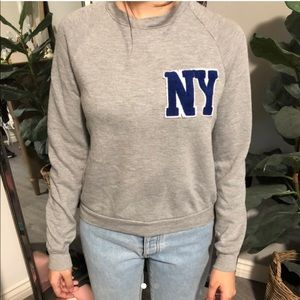 Urban Outfitters Grey NY sweater